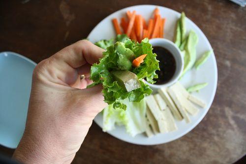 Hand-held Salad