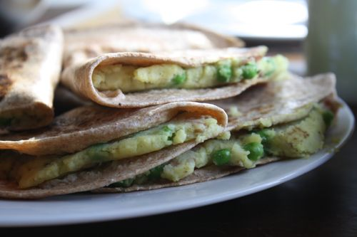 More samosa quesadillas