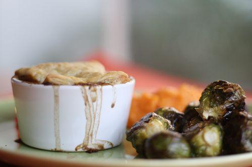 Thanksgiving lentil pie