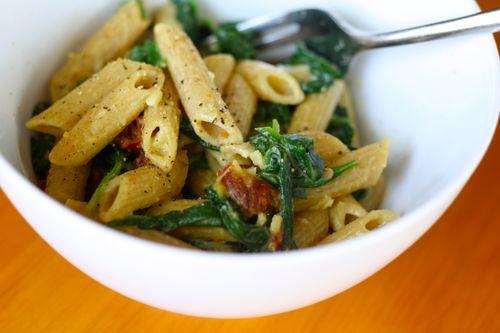 Simple creamy pasta