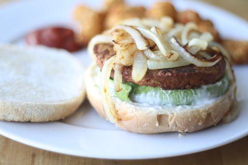 Quorn veggie burger