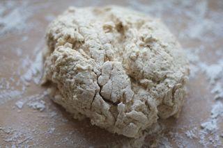 Wet dough