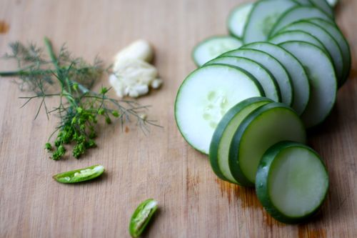 Dill pickle fixins