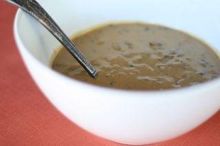 Cashew Mushroom Gravy